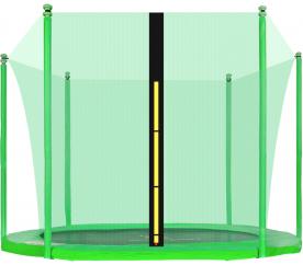 Aga belső biztonsági háló  250 cm trambulinra 6 rudas Light Green