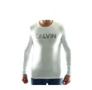 CALVIN KLEIN cmp12r Blanc férfi póló
