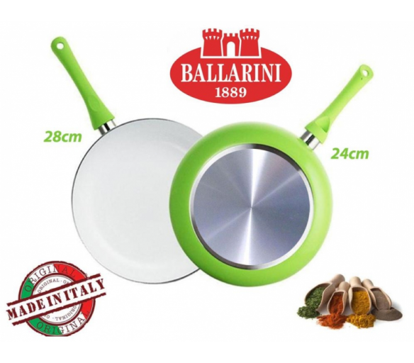 Sada dvou italských pánví 24 cm a 28 cm od Ballarini - Ballarini