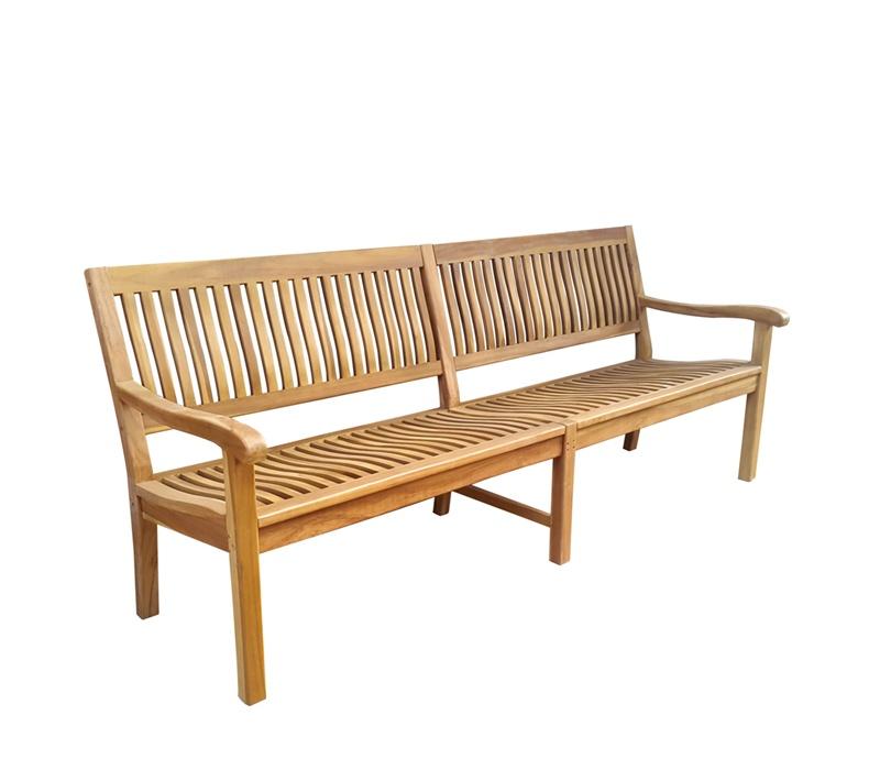 Linder Exclusiv Zahradní lavice KINGSBURY B29D 200 cm