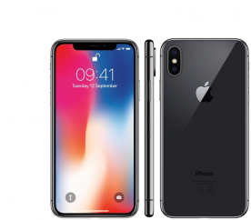 Apple iPhone X 64GB Space Grey Kategorie: B