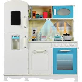 Aga4Kids Dřevěná kuchyňka Mr. Poppy + LED