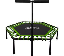 Olympic Sport Fit FITNESS Trampolína 130 cm Green + madlo