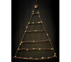 Linder Exclusiv Podświetlana choinka do zawieszenia 40 diod LED Ciepła biel