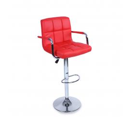 Aga Barová židle s područkami BH014 Red