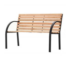 Linder Exclusiv Záhradná lavica PARK MC4350 122x80x60 cm