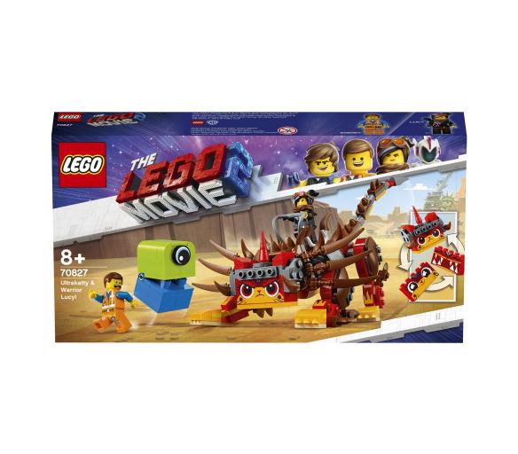 Lego Movie Ultrakatty a válečnice Lucy!