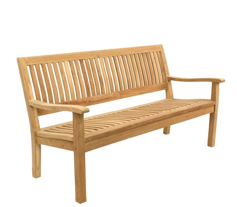 Linder Exclusiv Zahradní lavice KINGSBURY B29CE 180 cm