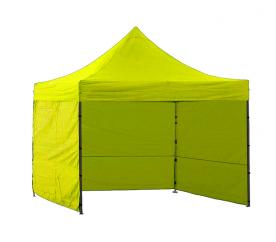Aga Predajný stánok 3S POP UP 3x3 m Yellow