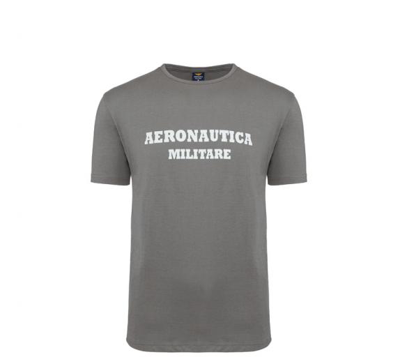 Aeronautica Militare Tričko ROUND-NECK PRINT 3-Pack X1401 Grey