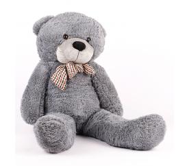 Aga4Kids Plyšový medvěd 130 cm Šedý