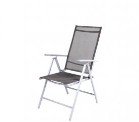 Linder Exclusiv Záhradné kreslo 7-WAY MC5000DG Dunkel Grey
