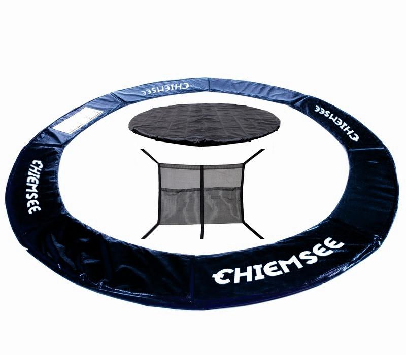 Chiemsee Kryt pružin + Plachta + Kapsa na obuv 430 cm Black
