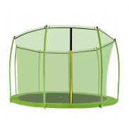 Aga belső védőháló  366 cm  8 rudas trambulinhoz Green