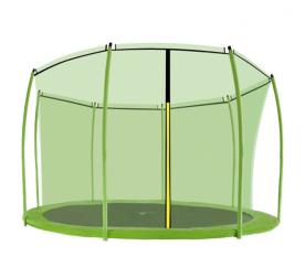 Aga Vnútorná ochranná sieť 366 cm na 8 tyčí Light Green (kruh)
