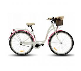 """Goetze BUTTERFLY női kerékpár 26"""" fehér"""