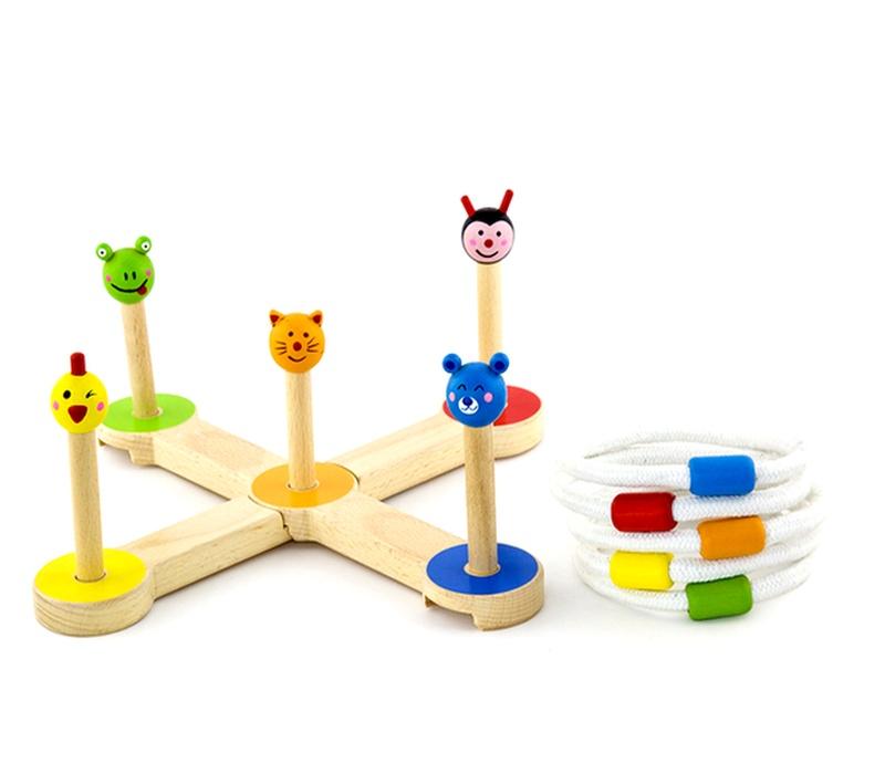 Wooden Toys Házecí kroužky BEACH JOY
