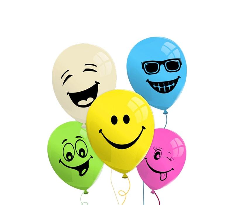 Aga4Kids Sada balóniku SMILE 25 ks.
