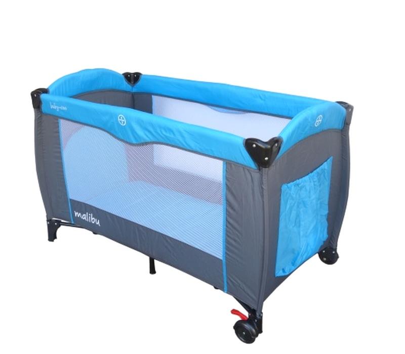Baby Coo Cestovná postieľka MALIBU Blue