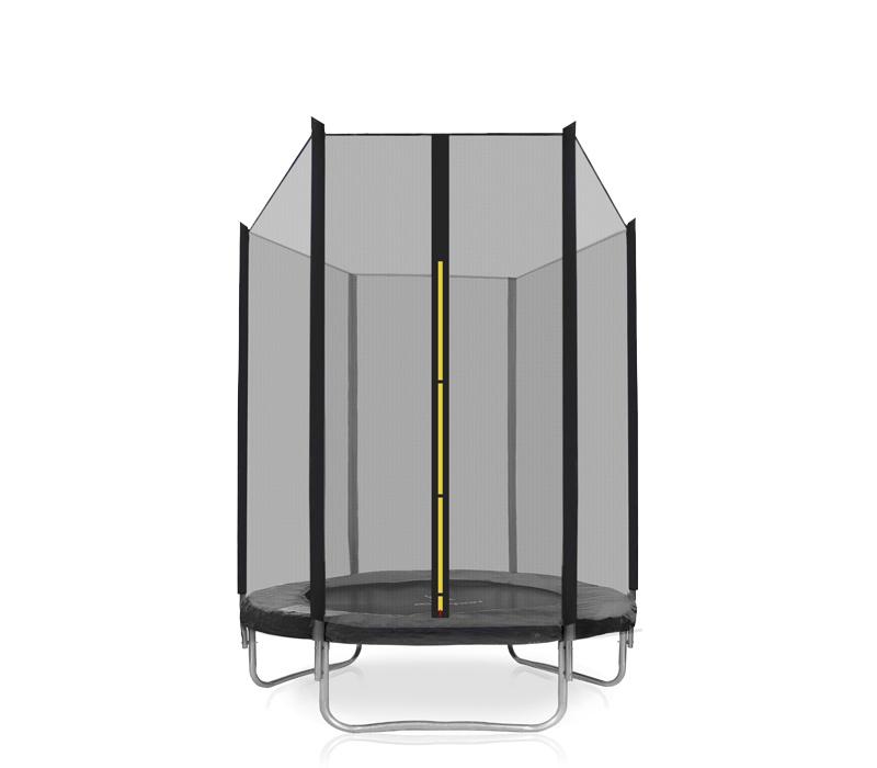 Aga SPORT UNIVERSAL Trampolína 140 cm Black