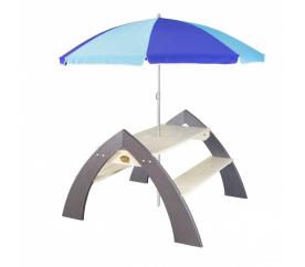 Axi Stół piknikowy dla dzieci z parasolką KYLO XL