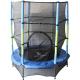 Aga Dětská trampolína 140 cm Green/Blue + ochranná síť