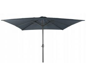 Linder Exclusiv Slunečník čtvercový 300 cm Dark Grey