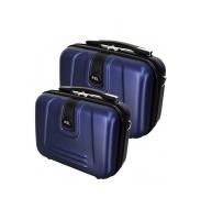 RGL Utazási kozmetikai bőröndök 910 XL,L Navy