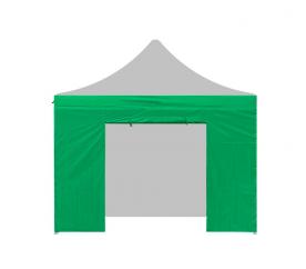 Aga Bočnice s dveřmi POP UP 4,5 m Dark Green