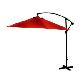 Aga Záhradný slnečník konzolový EXCLUSIV BONY 300 cm Dark Red