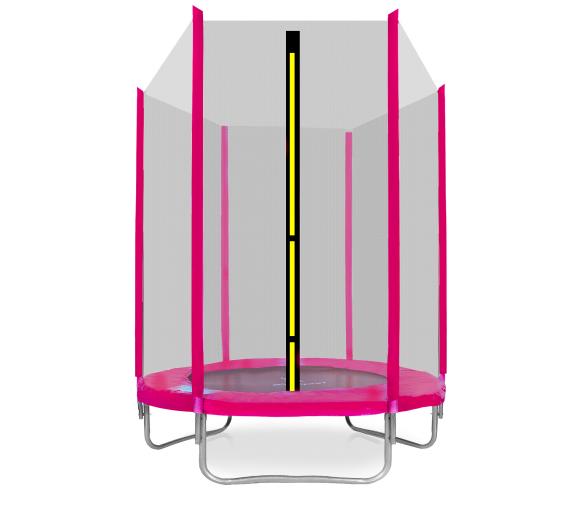 Aga SPORT TOP Trampolína 150 cm Pink + ochranná sieť