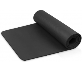 Linder Exclusiv podložka na cvičenie YOGA Black 180x60x1 cm