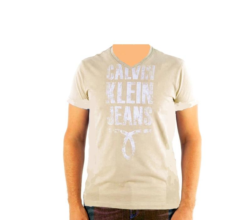 CALVIN KLEIN Tričko cmp25p 8b2 Marron Fonce