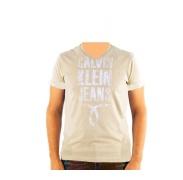 CALVIN KLEIN cmp25p 8b2 Marron Fonce férfi póló