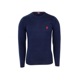 U.S. Polo ASSN. Svetr ROUND-NECK Navy