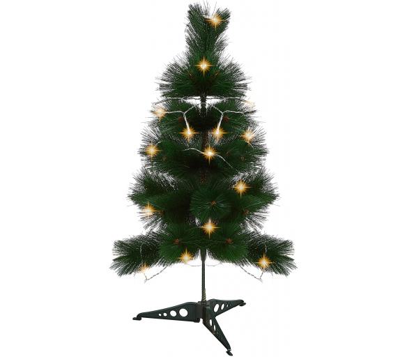 Aga Vánoční stromeček Borovice zelená 60 cm + Vánoční osvětlení zdarma