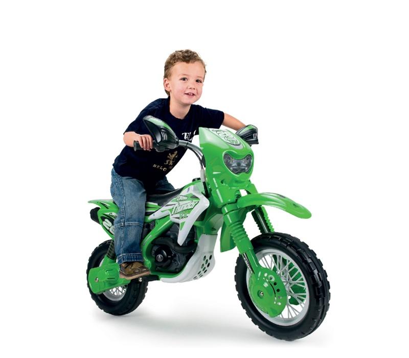 Injusa Elektrická motorka MOTO CROSS THUNDER VX 6V