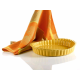 Grand Chef Oválná zapékací mísa Oranžová - 28x24 cm