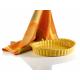 Oválná zapékací mísa Grand Chef - Oranžová - 28x24 cm - Grand Chef