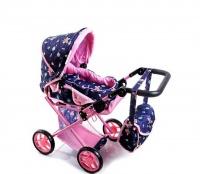 Doris Kočík pre bábiky 9346 Pink 3