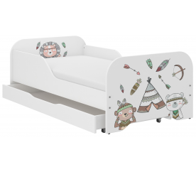 Wooden Toys Dětská postel Indián 160x80 cm