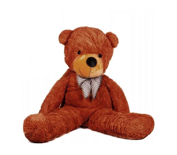 Doris Velký plyšový medvěd 130 cm Hnědý