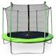 Aga SPORT FIT Trampolína 250 cm Light Green + vnútorná ochranná sieť