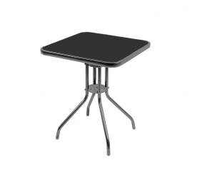 Aga Szklany stół ogrodowy MR4353A 60x60x70 cm