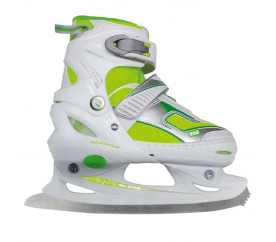 Nils Extreme Detské zimné korčule NF701A White/Green