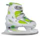 Nils Extreme Łyżwy dziecięce NF701A White/Green