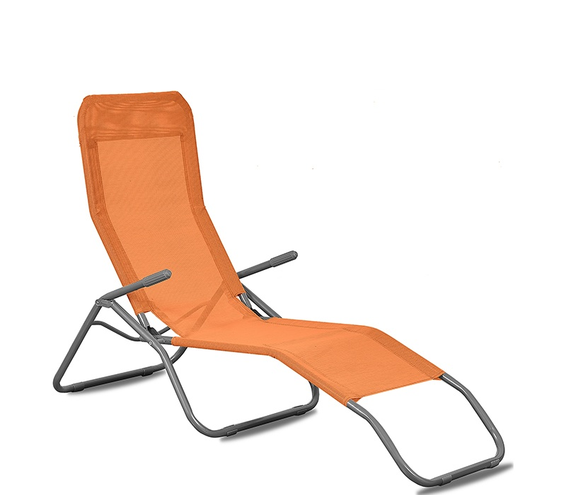 Aga Zahradní lehátko SIESTA 164C Orange