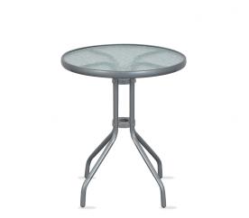 Aga Szklany stół ogrodowy MR4350LGY 70x60 cm