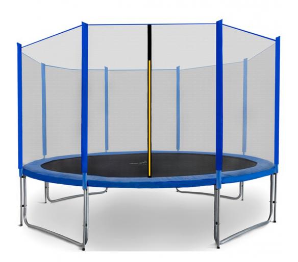 Aga SPORT PRO Trampolína 366 cm Blue + ochranná síť