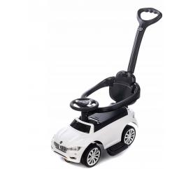 Aga4Kids Odrážedlo BMW s vodící tyčí White